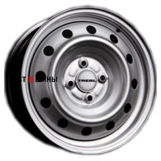 Trebl X40915 P 6*15 4*100 ET40 60.1 silver