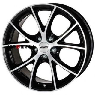 Alutec Cult 7*16 5*100 ET38 63.3 diamant-black-front-polished