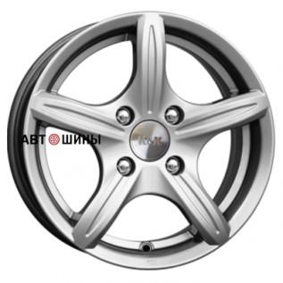 КиК Мирель (КС544) 6*14 4*98 ET38 58.5 blek-platinum
