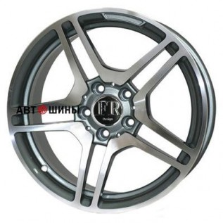 FR replica MR87 (MR5010) 7.5*16 5*112 ET35 66.6 m-gra