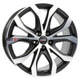 Диск Alutec W10X 8*18 5*130 ET53 71.5 racing-black-front-polished