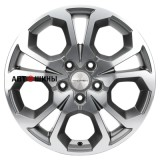 Диск Khomen Wheels V-Spoke 711 (ZV 17_Ceed) 6.5*17 5*114.3 ET50 67.1 gray-fp