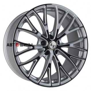 Eta Beta Piuma C 10.5*20 5*120 ET25 78.1 silver-black-face-shine