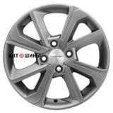Диск Khomen Wheels KHW1501 (Rio II) 6*15 4*100 ET46 54.1 g-silver