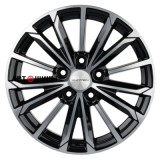 Диск Khomen Wheels KHW1611 (Mazda 3) 6.5*16 5*114.3 ET45 67.1 black-fp