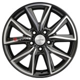 Диск Khomen Wheels KHW1706 (Ceed) 7*17 5*114.3 ET53 67.1 black-fp