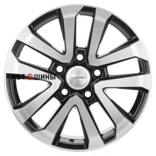 Khomen Wheels KHW2003 (LC200/LC100) 8.5*20 5*150 ET45 110.1 black-fp