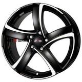 Диск Alutec Shark 8*18 5*114.3 ET35 70.1 racing-black-front-polished