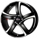 Диск Alutec Shark 8*18 5*108 ET45 70.1 racing-black-front-polished