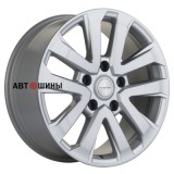 Диск Khomen Wheels KHW2003 (LC200/LC100) 8.5*20 5*150 ET45 110.1 brilliant-silver
